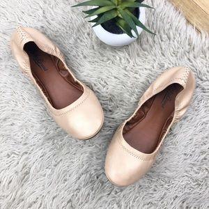 •LUCKY BRAND• Champagne Gold Erin Ballet Flats